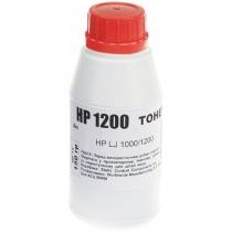 Тонер SCC для HP LJ 1200 бутль 150г Black (HP12) HP12