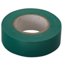 Ізострічка ПВХ, 15 мм х 10 м, зелена, СТ