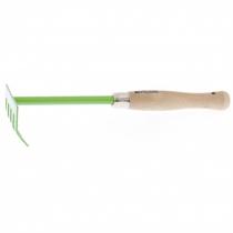 Грабли 5 зубьевые, 90 мм, деревянная ручка 340 мм, PALISAD
