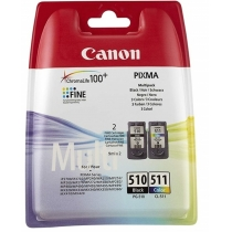 Картридж струйный CANON cartr PG-510+CL-511 Multi, для iP2700, iP2702, MX360, MX410, MX420, ориг