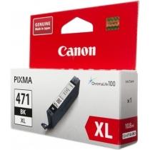Картридж струйный CANON CLI-471XL черный, для MG5740, MG6840, MG7740, ориг