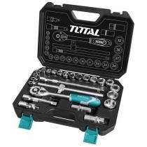 Набір TOTAL  THT121251 ключів, головок торцевих 1/2