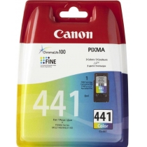 Картридж струйный CANON cartr CL-441, для Pixma MG2140, MG3140, ориг