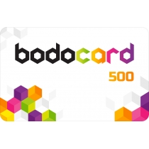 Подарунковий сертифікат BODO (номінал – 500 грн.)