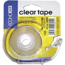 Диспенсер для клейкой ленты с клейкой лентой 19мм х 33м Economix, оснащен металлическим лезвием, о