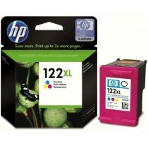 Картридж HP для DJ 1050/2050/3050 HP №122XL Color (CH564HE) повышенной емкости