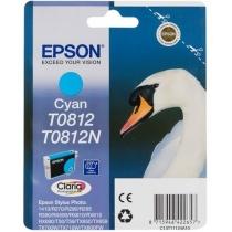 Картридж Epson для Stylus Photo R270/T50/TX650 Cyan (C13T11124A10) повышенной емкости