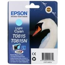 Картридж Epson для Stylus Photo R270/T50/TX650 Light Cyan (C13T11154A10) повышенной емкости