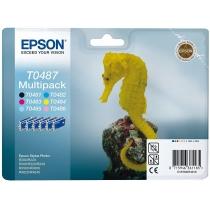 Картридж EPSON Stylus Photo R-200/220/300/320/340/RX-500/600/620 (C13T048140AO/BA/C13T04874010),ориг