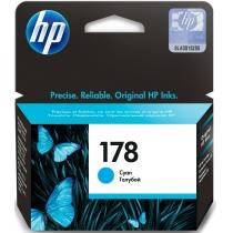 Картридж HP для Photosmart C6383/C5383/D5463 HP 178 Cyan (CB318HE)