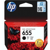 Картридж HP для DJ Ink Advantage 3525/4615/4625 HP 655 Black (CZ109AE)