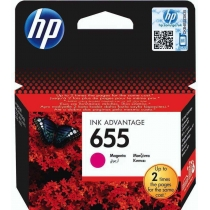 Картридж HP для DJ Ink Advantage 3525/4615/4625 HP 655 Magenta (CZ111AE)