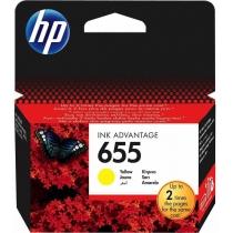 Картридж HP для DJ Ink Advantage 3525/4615/4625 HP 655 Yellow (CZ112AE)