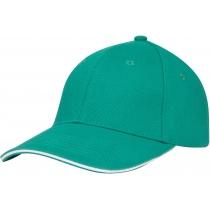 Кепка 6-и панельная OPTIMA PROMO GOLF, зеленая