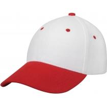 Кепка 6-и панельная OPTIMA PROMO COMBI, бело-красная