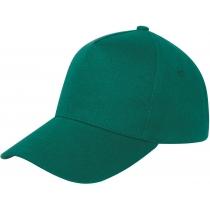 Кепка 5-и панельная OPTIMA PROMO POLO, зеленая