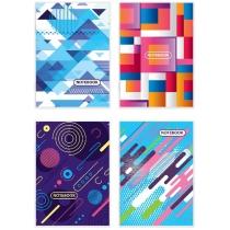 Книга канцелярская 48 листов, клетка, газ., А4, скоба.