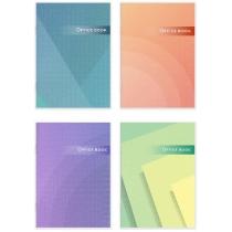 Книга канцелярская 96л. клетка, газ, А4, скоба.
