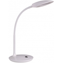 Лампа настольная светодиодная Ultralight DSL050 белая, 5W, 300lm, 4500k