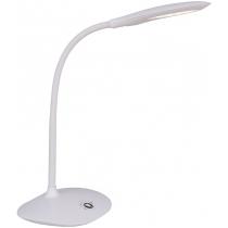 Лампа настольная светодиодная Ultralight DSL049 белая, 5W, 300lm, 4500k, dimmer, sensor, USB