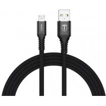 Кабель T-PHOX Jagger T-M814 Micro USB - 1m (Black)