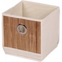 Коробка для хранения вещей бежевая 20 х 20 х 20 см Мой Дом