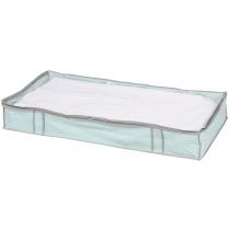 Кофр для одеяла голубой 100 х 45 х 15 см Мой Дом