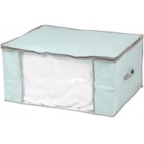 Кофр для одеяла голубой 60 х 45 х 30,5 см Мой Дом