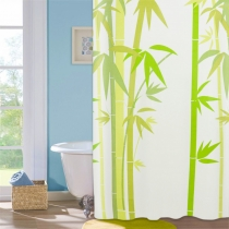 Шторка для ванной комнаты Green Bamboo 180 х 180 см Мой Дом