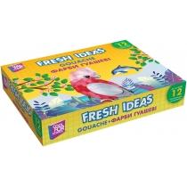 Краски гуашевые Fresh Ideas, 12 цветов (по 10 см3)
