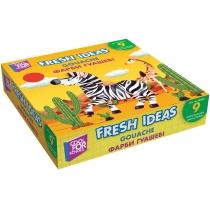 Фарба гуашева Fresh Ideas, 9 кольорів (по 10 мл)