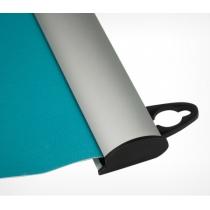 Комплект алюминиевых профилей для подвешивания плакатов, POSTERSNAPPER. Ш. проф 25 мм.Размер 1200 мм