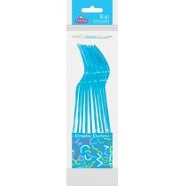 Вилки пластиковые EVENTA PS синие 10 шт