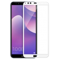 Защитное стекло T-PHOX Glass Screen (CP+ FG) For Huawei Y7 2018 Prime White