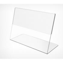 Tримач информации, горизонт, L-образный формата А4. PVC-PRICER