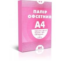 Папір офсетний А4 60г/кв.м 500арк