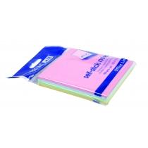 Стикеры Economix, 75х75, 4 цвета, 100л.