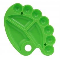 Палитра Мини овальная, зеленая