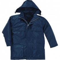 Куртка утепленная DARWIN, темно-синяя р.XL (56-58), рост 180-188