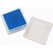 Штемпельная подушка с пигментным чернилом, Темно-синяя, 2,5*2,5см