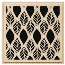 Штамп деревянный Фоновый