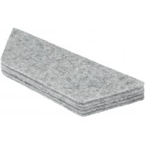 Сменные салфетки для магнитного стирателя Nobo (уп/10шт), арт.1905326