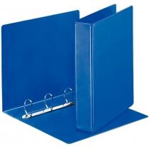 Папка-панорама на 4 кольца РР А4 40 мм синяя арт.49762