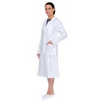 Халат рабочий белый тк. Бязь женский, р. M (48-50), рост 170-176 см