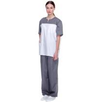 "Костюм ""Панацея"" (бел./сер) куртка+брюки, р. XXL (60-62), рост 170-176 см"