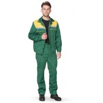 Костюм «Легионер» куртка+штани зеленый+желтый, р. XXL (60-62), рост 170-176 см