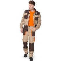 Костюм ИТР куртка+брюки, р. M (48-50), рост 182-188 см, песочный