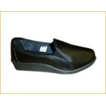 Обувь, сабо женские черные с закрытым задником, р. 40, цвет черный