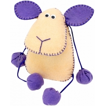 Набор, создай игрушку из фетра, овечка Флаффи