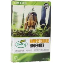 Биопакеты Dog, 50 шт в Ролон, 20х32 см